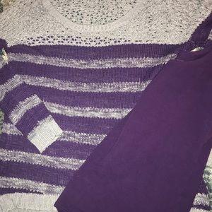 Sweater & tank